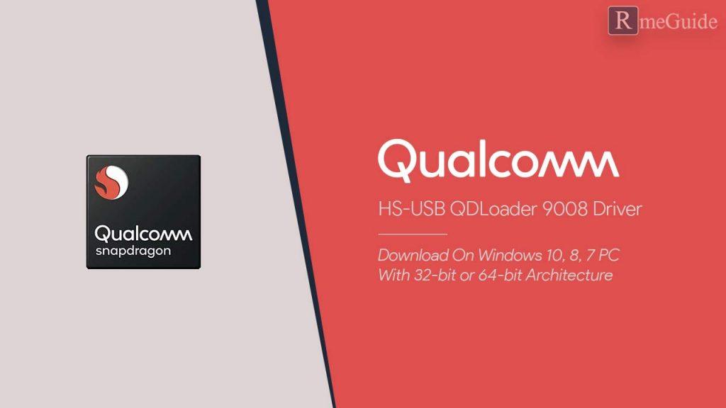 Download Qualcomm HS-USB QDLoader 9008 Driver